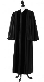 Front Velvet Geneva Clergy Talar
