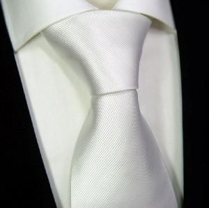 Krawatte aus SEIDE RIPS