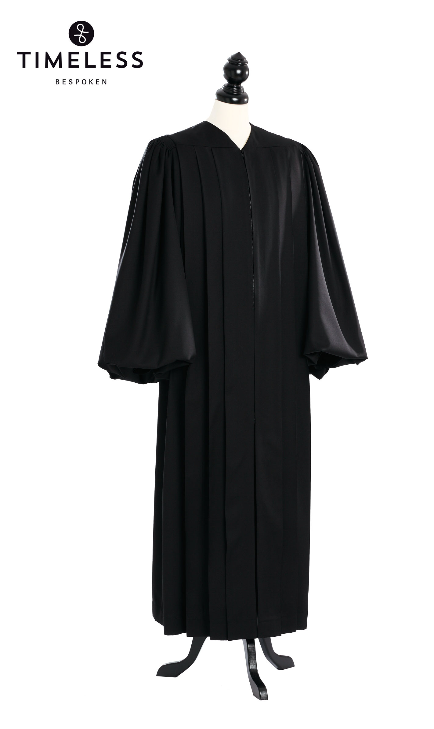 Geneva Clergy Talar, TIMELESS silver wool