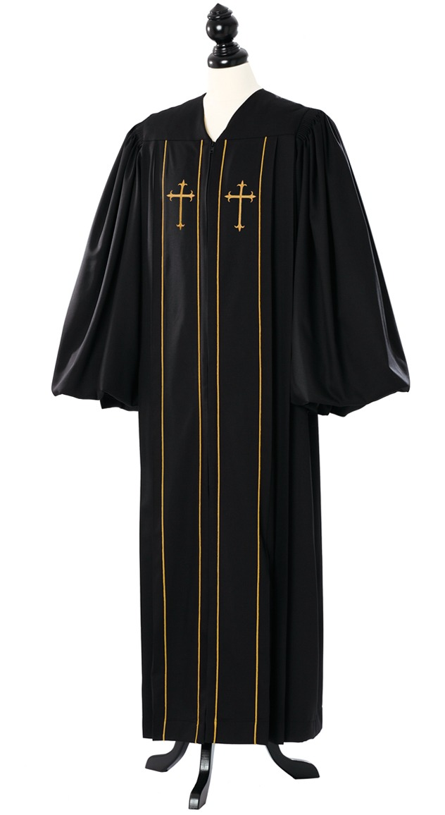 Custom Cleric Clergy Talar