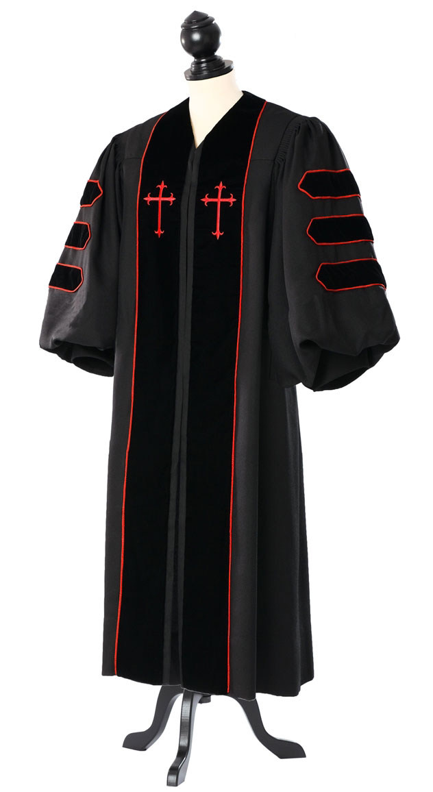 Dr. of Divinity Clergy Talar